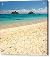 Lanikai Beach 2 - Oahu Hawaii Acrylic Print