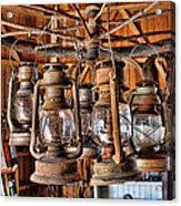 Lantern Chandelier Acrylic Print