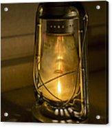 Lantern On Granite Acrylic Print