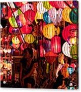 Lantern Stall 02 Acrylic Print