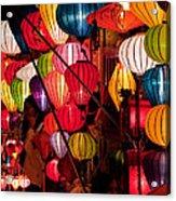 Lantern Stall 03 Acrylic Print