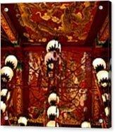 Lanterns And Dragons Acrylic Print