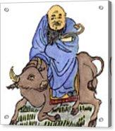 Lao-tzu (c604-531 B Acrylic Print