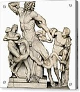 Laocoon With His Sons. 1st C. Bc Acrylic Print by Everett
