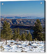 Larb Hollow Overlook Acrylic Print