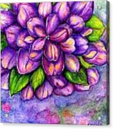 Large Flower Acrylic Print