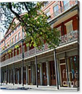 Upper Pontalba Building Photo Acrylic Print