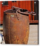 Large Mining Bucket Acrylic Print