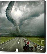 Large Tornado Acrylic Print by Boon Mee