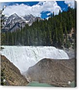 Larger View Of Wapta Falls In Yoho Np-bc Acrylic Print
