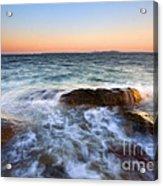 Larrabee Sunset Acrylic Print