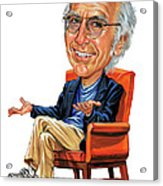 Larry David Acrylic Print