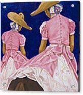 Las Charras Rosadas Acrylic Print