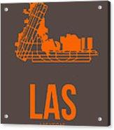 Las Las Vegas Airport Poster 1 Acrylic Print