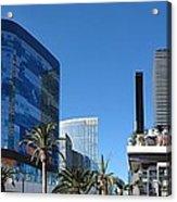 Las Vegas - Cosmopolitan Casino - 12121 Acrylic Print by DC Photographer