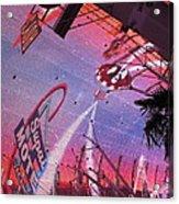 Las Vegas - Fremont Street Experience - 121212 Acrylic Print