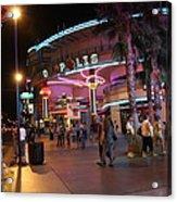 Las Vegas - Fremont Street Experience - 121224 Acrylic Print by DC Photographer