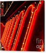 Las Vegas Neon Acrylic Print