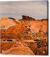 Las Vegas Nevada Mojave Desert Valley Of Fire Panorama Acrylic Print