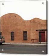 Las Vegas New Mexico Church Acrylic Print