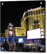 Las Vegas - Planet Hollywood Casino - 12121 Acrylic Print by DC Photographer