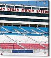 Las Vegas Speedway Grandstands Acrylic Print