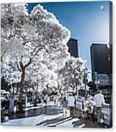 Las Vegas Strip In Infrared 1 Acrylic Print