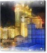 Las Vegas The Palace Photo Art Acrylic Print