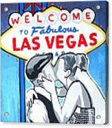 Las Vegas Wedding Acrylic Print by Gary Niles