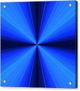 Laser Blue Light Acrylic Print