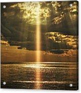 Laser Light Reflections Acrylic Print