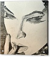 Lash Acrylic Print