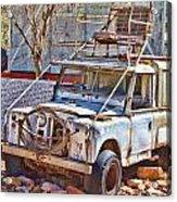 Lasseter Land Rover Acrylic Print