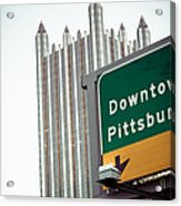 Last Exit Pittsburgh Acrylic Print