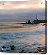 Last Light At Pigeon Point Lighthouse Acrylic Print