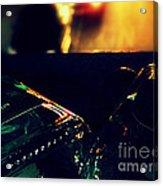 Last Night's Faux Warmth Acrylic Print