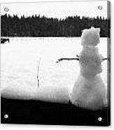 Last Of The Frozen Men Acrylic Print