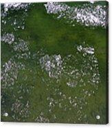Last Of The Ice Floating  Acrylic Print