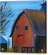 Last Of The Old Farms  Acrylic Print