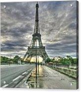 Last Parisian Glow Acrylic Print