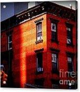 Last Rays Of The Sun - Old Buildings Of New York Acrylic Print