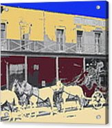 Last Stage To Tombstone Arizona Old Modoc 1903-2013 Acrylic Print