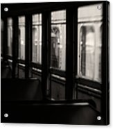 Last Stop Acrylic Print by Amy Weiss