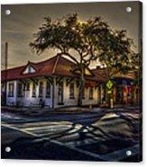 Last Stop Tarpon Springs Acrylic Print