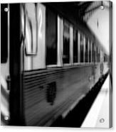 Last Train Leaving Paris Acrylic Print