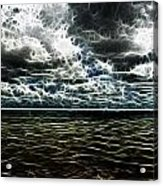 Last Winds Of Hurrican Issac  Acrylic Print