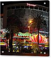 Las Vegas - The Flamingo Panoramic Acrylic Print