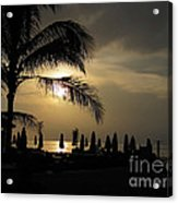 Late Afternoon In Mobay Acrylic Print