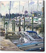 Late Afternoon In Virginia Harbor Acrylic Print