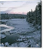 Late Afternoon In Winter Acrylic Print